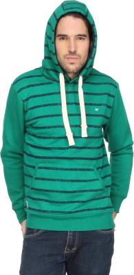 T-Base Full Sleeve Striped Men's Sweatshirt