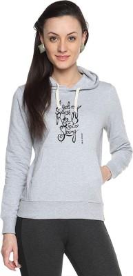 Campus Sutra Full Sleeve Printed Women Sweatshirt
