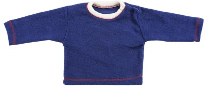 Tillu Pillu Full Sleeve Solid Baby Boys Sweatshirt  available at flipkart for Rs.253