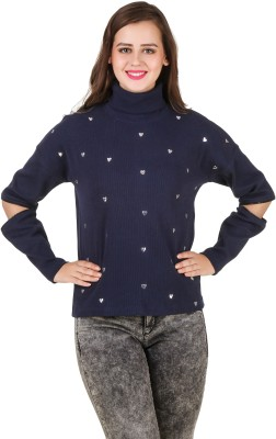 Texco Full Sleeve Self Design Women Sweatshirt at flipkart