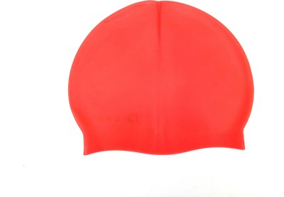 Akki Collection swimming cap Swimming Cap Red, Pack of 1
