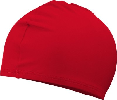 Futaba Nose and Ear Plugs Combo Swimming Cap(Red, Pack of 1)