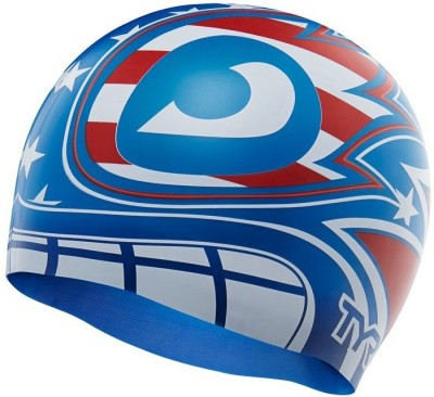 TYR MASKED LIBERATOR Swimming Cap Multicolor, Pack of 1