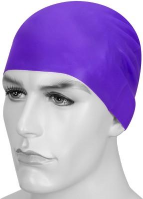 Golddust Plyr 100% Silicone Cap Swimming Cap Purple, Pack of 1
