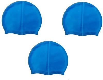 Sportshour BL-03 Swimming Cap(Multicolor, Pack of 3)