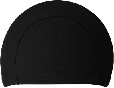 Futaba Nose and Ear Plugs Combo Swimming Cap(Black, Pack of 1)