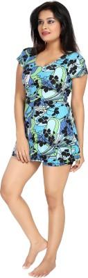 Enkay Graphic Print Women's Swimsuit