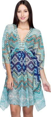 Oxolloxo Embroidery Printed Girls Swimsuit at flipkart