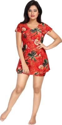 Enkay Floral Print Women's Swimsuit
