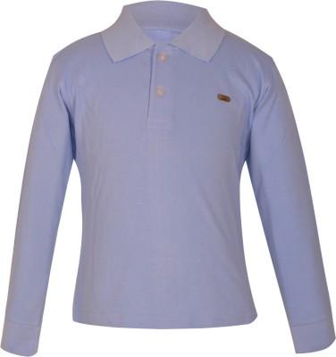 Gkidz Boys Solid Cotton T Shirt(Light Blue, Pack of 1) Flipkart