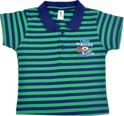 Cucumber Boys Printed T Shirt(Blue, Pack of 3)