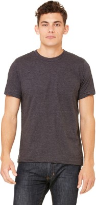 The Archer Solid Men's Round Neck Brown T-Shirt  available at flipkart for Rs.197