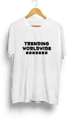 Teeforme Printed Men's Round Neck White T-Shirt