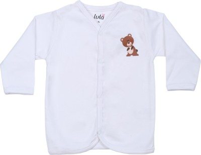 Lula Girls Animal Print T Shirt(White)