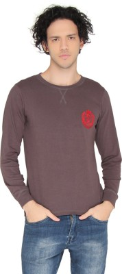 LUCfashion Full Sleeve Solid Men's Sweatshirt  available at flipkart for Rs.245