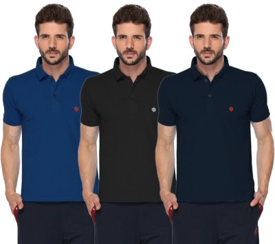 98ff8959 Buy ONN Solid Men's Polo Neck Multicolor T-Shirt(Pack of 3) on Flipkart |  PaisaWapas.com