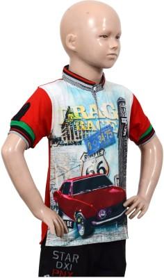 Puppet-Nx-Printed-Boys-Round-Neck-T-Shirt