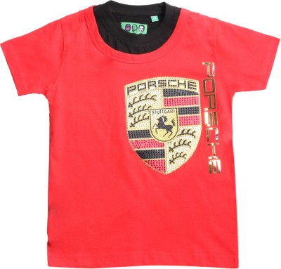 1st Attitude Graphic Print Baby Boy's Round Neck T-Shirt
