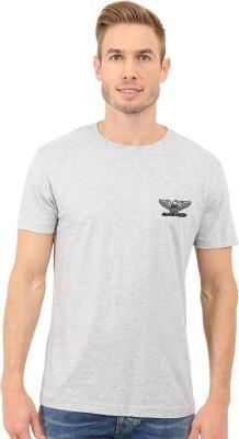 Redfool Fashions Graphic Print Men's Round Neck Grey T-Shirt