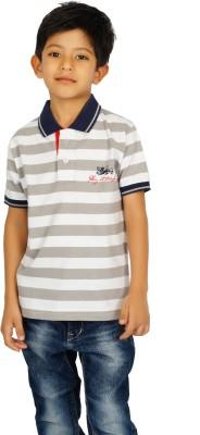 Shaun Boys Printed T Shirt(Multicolor)