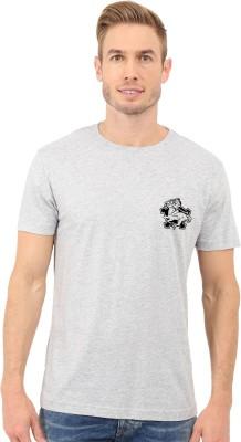 Redfool Fashions Graphic Print, Printed Men's Round Neck Grey T-Shirt