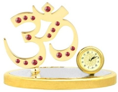 Crystocraft Analog Multicolor Clock at flipkart
