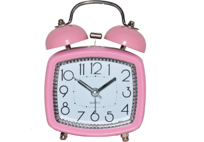 Kolet Analog Pink Clock at flipkart