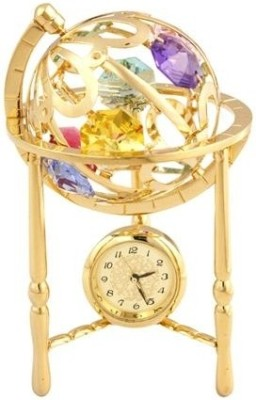 Crystocraft Multicolor Clock at flipkart