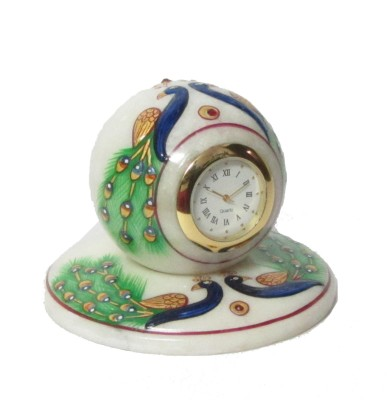 eCraftIndia Analog Multicolor Clock at flipkart