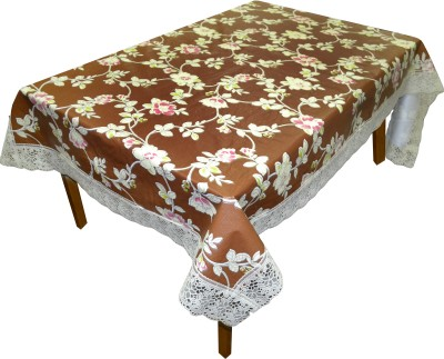 DREAM HOME Abstract 8 Seater Table Cover(Multicolor, PVC) at flipkart