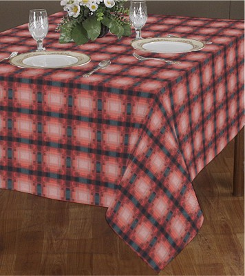 Airwill Geometric 2 Seater Table Cover(Multicolor, Cotton) at flipkart