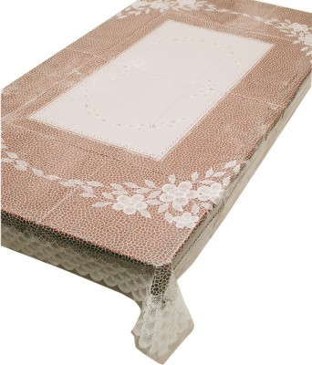 E-Retailer Floral 6 Seater Table Cover(Multicolor, PVC) at flipkart