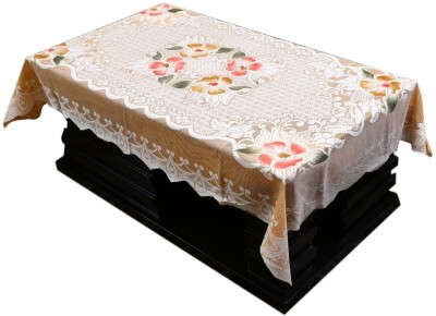 Flavio Floral 4 Seater Table Cover(Multicolor, Cotton) at flipkart
