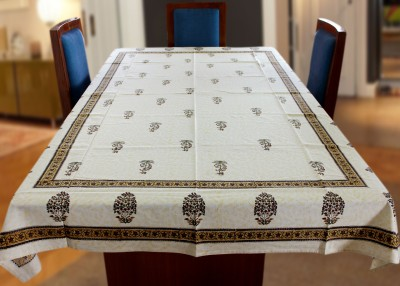 Coco Bee Floral 6 Seater Table Cover(Multicolor, Cotton) at flipkart