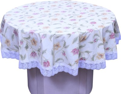 E-Retailer Floral 4 Seater Table Cover(Multicolor, PVC) at flipkart