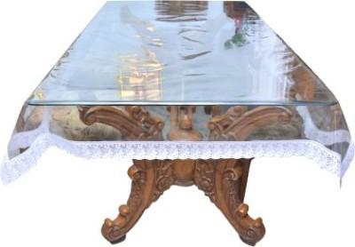 KS Industries Self Design 4 Seater Table Cover(Multicolor, Plastic) at flipkart