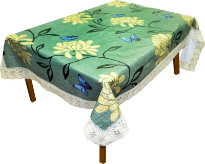 DREAM HOME Abstract 6 Seater Table Cover(Multicolor, PVC) at flipkart