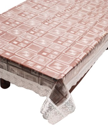E Reatiler Printed 6 Seater Table Cover(Transparent, PVC) at flipkart