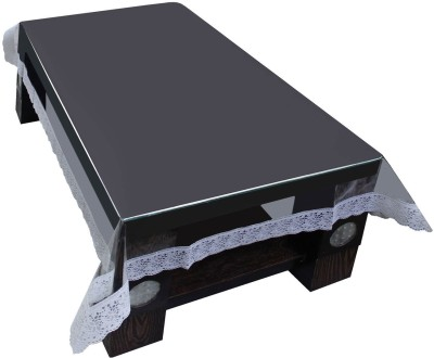 Idrape Solid 4 Seater Table Cover(Transparent, PVC) at flipkart