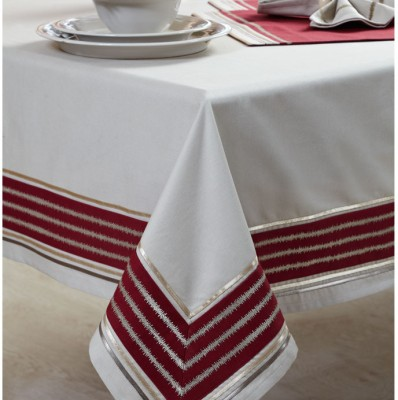Maspar Solid 6 Seater Table Cover(Multicolor, Polyester) at flipkart