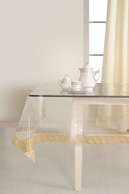 LIV Solid 12 Seater Table Cover Clear, PVC  Polyvinyl Chloride