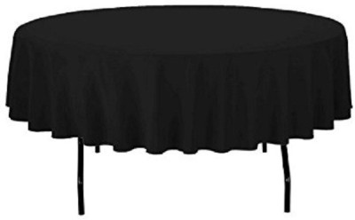 Airwill Solid 2 Seater Table Cover(Black, Cotton) at flipkart