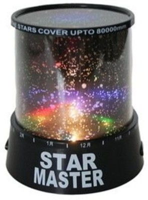 Magnus Star Master Night Lamp(13 cm, Black) at flipkart
