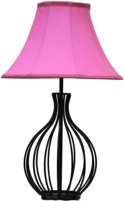 Yashasvi Decor Table Lamp(40.64 cm, Pink) at flipkart