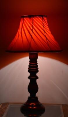 Yashasvi Decor Table Lamp(40.64 cm, Orange) at flipkart