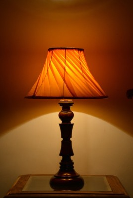 Yashasvi Decor Table Lamp(40.64 cm, Yellow) at flipkart