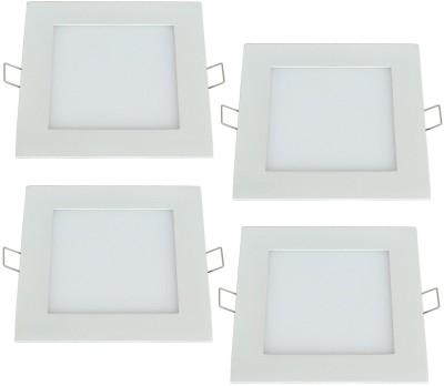 Wall Light In Flipkart : Bene LED 12w Square Panel (Pack of 4 Pcs) Ceiling Lamp Night Lamp(3 cm, Color of Fixture White ...