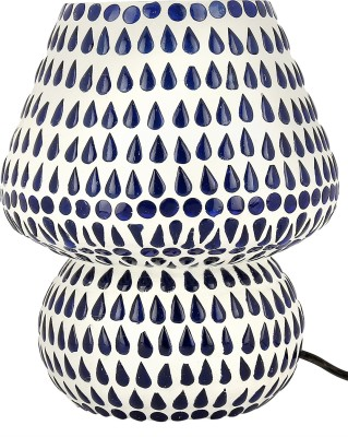 Gojeeva Tear Drop Table Lamp(17 cm, Wonderful White, Refreshing Blue) at flipkart