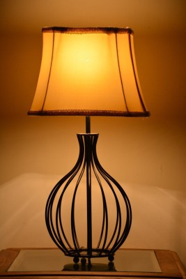 Yashasvi Decor Table Lamp(48.26 cm, Cream) at flipkart