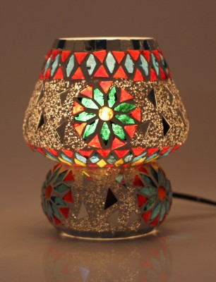 Brahmz Glass Table Lamp 18 cm, Silver